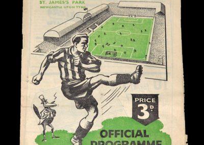 Newcastle v Bristol Rovers 24.02.1951 - FA Cup 6th Round
