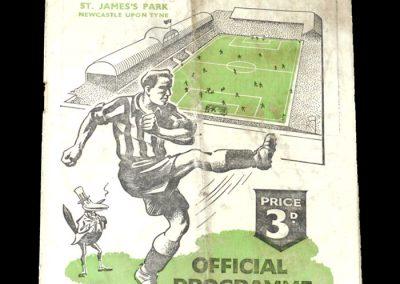 Newcastle v Aston Villa 04.04.1951