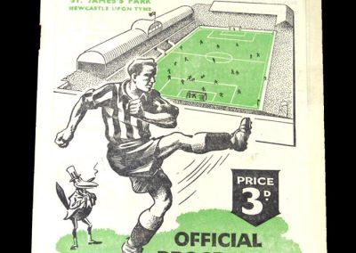 Newcastle v Portsmouth 11.04.1951