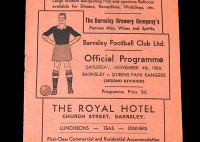 Barnsley v QPR 04.11.1950