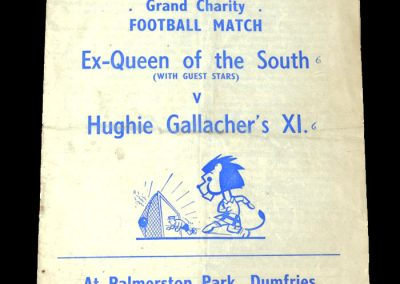 ex Queen of the South v Gallacher's 11 28.09.1950