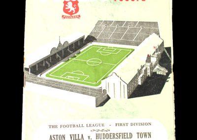 Aston Villa v Huddersfield 03.03.1951