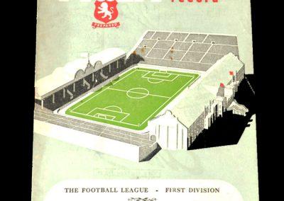 Aston Villa v Burnley 17.03.1951
