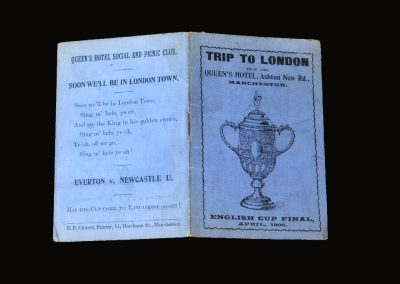 Everton v Newcastle 21.04.1906 - FA Cup Final Tour