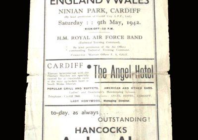 Wales v England 09.05.1942 1-0