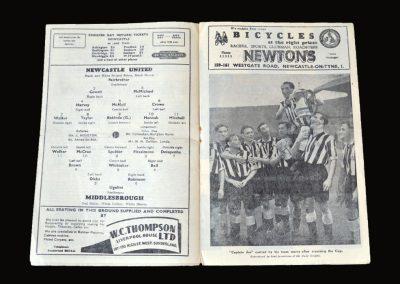 Newcastle v Middlesbrough 05.05.1951