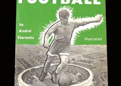 60 years of soviet football 1957