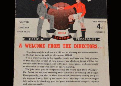 Man Utd v Chelsea 23.08.1952