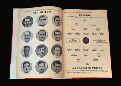 Man Utd v Arsenal 27.08.1952