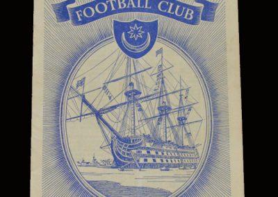 Man Utd v Portsmouth 06.09.1952