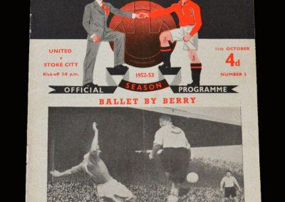 Man Utd v Stoke 11.10.1952
