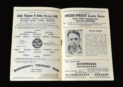 Man Utd v Preston 18.10.1952