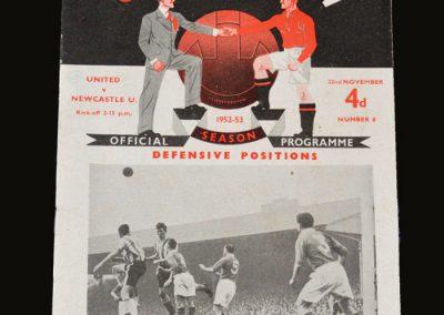 Man Utd v Newcastle 22.11.1952