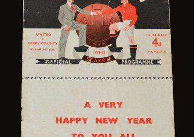 Man Utd v Derby 01.01.1953