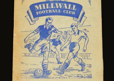Man Utd v Millwall 10.01.1953 - FA Cup 3rd Round
