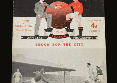 Man Utd v Portsmouth 17.01.1953