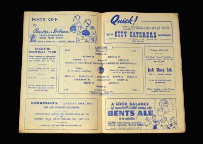 Man Utd v Everton 14.02.1953 - FA Cup 5th Round