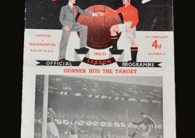 Man Utd v Wolves 21.02.1953