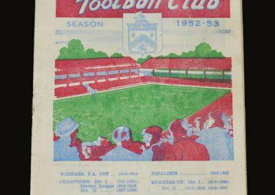 Man Utd v Burnley 14.03.1953