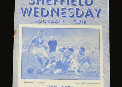 Man Utd v Sheff Wed 28.03.1953