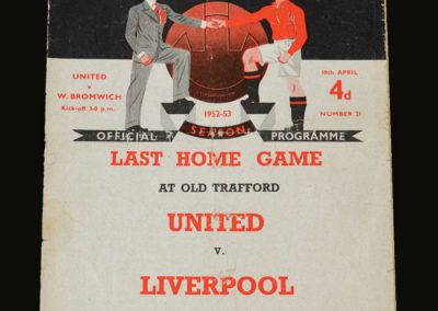 Man Utd v West Brom 18.04.1953