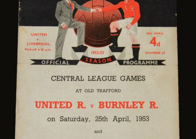 Man Utd v Liverpool 20.04.1953