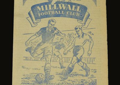 Man Utd v Millwall 02.05.1953 - Friendly