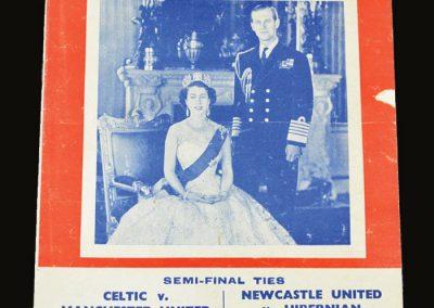 Man Utd v Celtic 16.05.1953 - Coronation Cup
