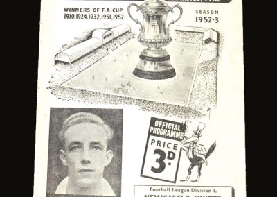 Man City v Newcastle 27.09.1952