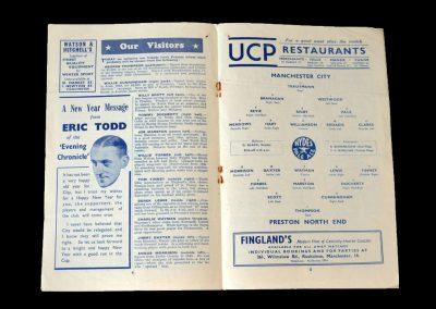 Man City v Preston 27.12.1952 (postponed played on 22.04.1953)