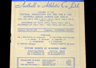 Man City v Bolton 07.03.1953