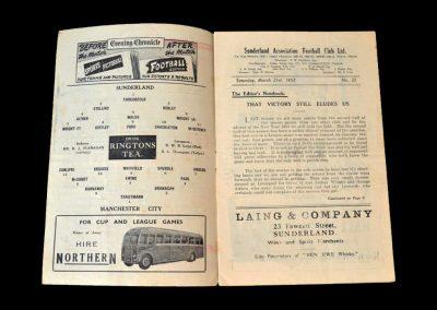 Man City Sunderland 21.03.1953
