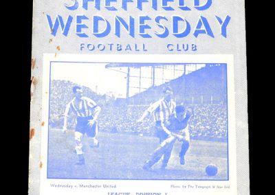 Man City v Sheff Wed 06.04.1953
