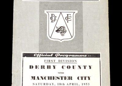 Man City v Derby 18.04.1953