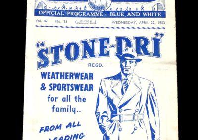 Man City v Preston 22.04.1953