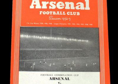 Arsenal v QPR 25.03.1953