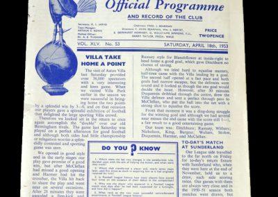 Arsenal v Spurs 18.04.1953