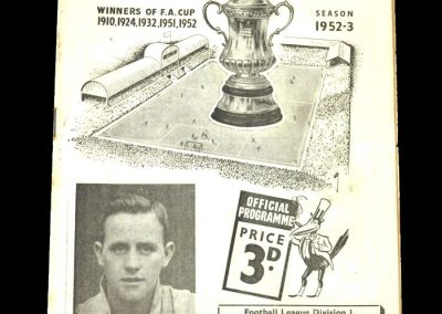 Newcastle v Cardiff City 25.12.1952