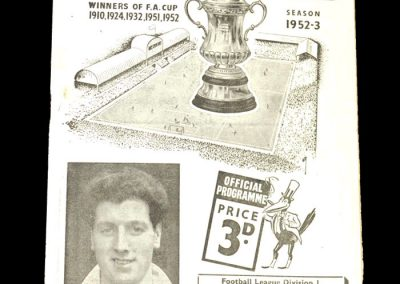 Newcastle v West Brom 01.01.1953