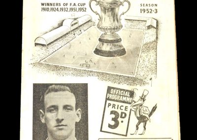 Newcastle v Swansea 14.01.1953 - FA Cup 3rd Round
