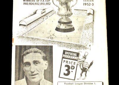 Newcastle v Burnley 17.01.1953