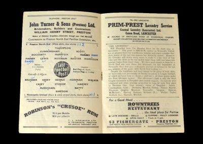 Newcastle v Preston 24.01.1953