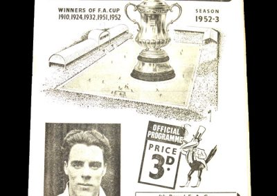 Newcastle v Rotherham 31.01.1953 - FA Cup 4th Round