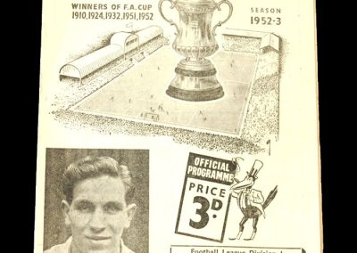 Newcastle v Blackpool 28.03.1953