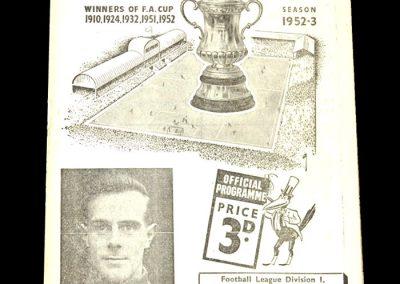 Newcastle v Middlesbrough 03.04.1953
