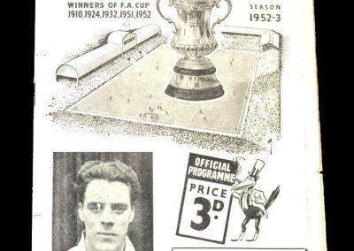 Newcastle V Bolton 25.04.1953
