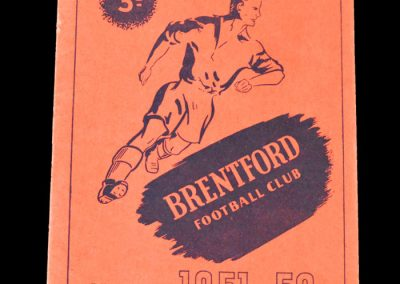 Notts County v Brentford 06.10.1951