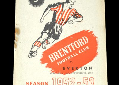 Brentford v Everton 20.09.1952