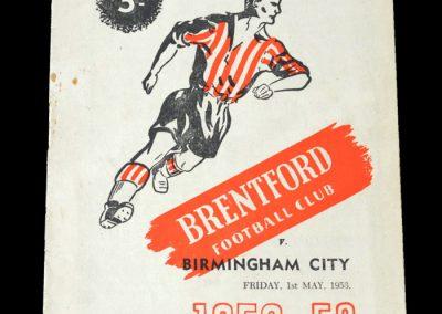Brentford v Birmingham 01.05.1953