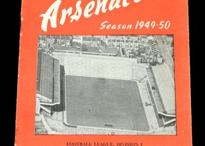 Arsenal v Fulham 05.11.1949